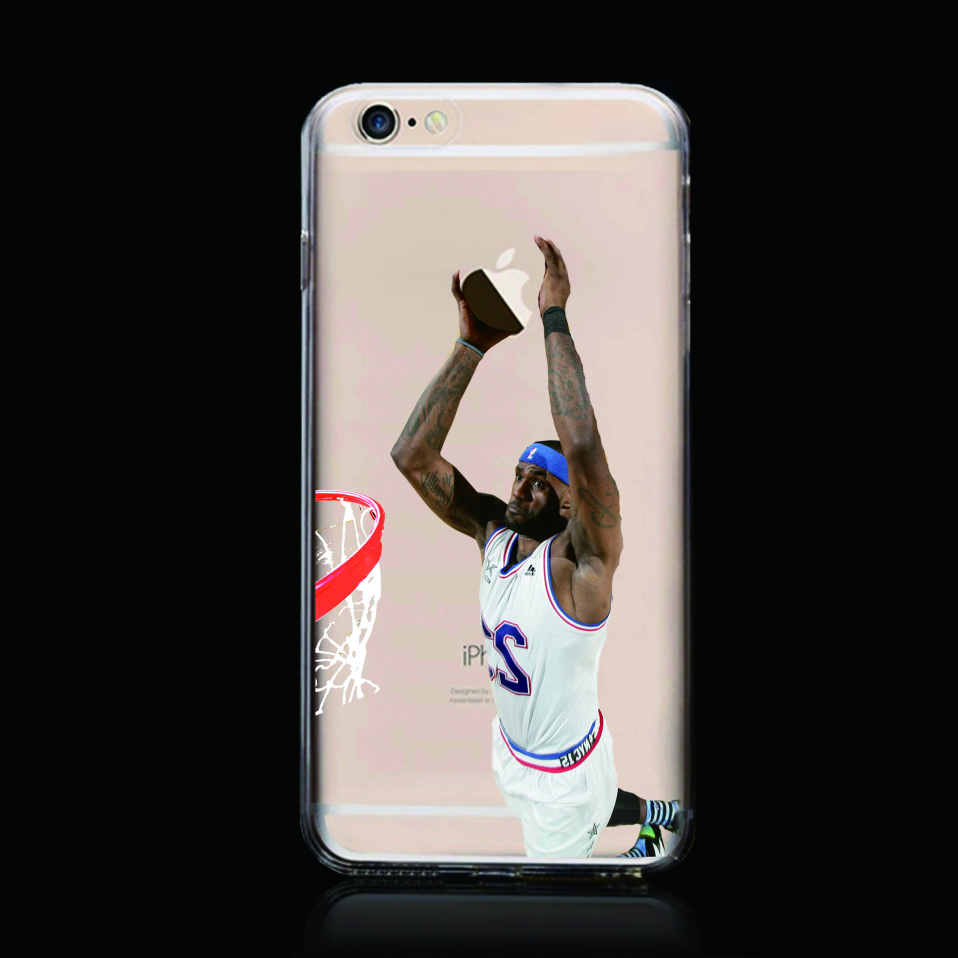 lebron dunking apple logo case. online shop soft case for iphone 4s 5 5s 5c se 6 6s 7 plus clear nba basketball players lebron james stars curry kobe tpu shell cap new cool | aliexpress dunking apple logo