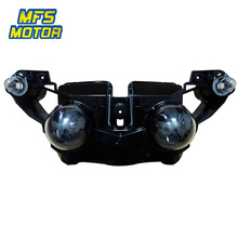Headlight For 09-11 Yamaha YZF-R1 YZFR1 YZF R1 Motorcycle Front Lamp Assembly Upper Headlamp Head Light Housing 2009-2011 все цены