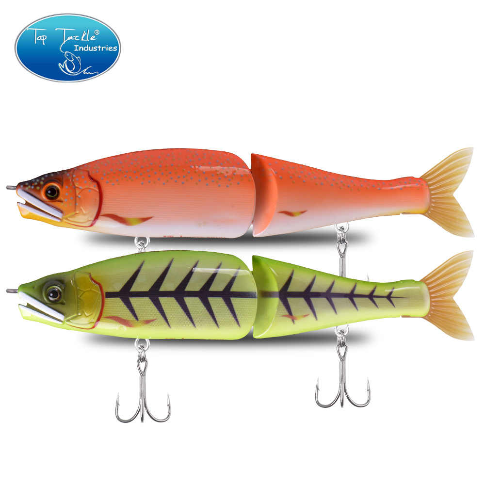 "Hot New 220mm 9"" 120g ""S"" PILUM Sinking Big Bass Fishing Jointed Baits Swimbait Fishing Lures 13 colors"