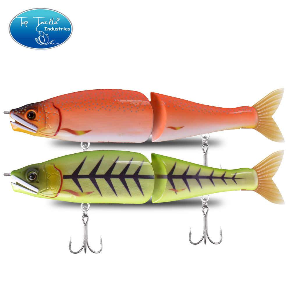 "Hot New 220mm 9"" 120g ""S"" PILUM Sinking Big Bass Fishing Jointed Baits Swimbait Fishing Lures 13 colors"