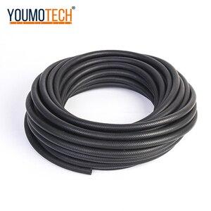 Image 5 - Car oil hose  fuel pipe 4mm/6mm/8mm/10mm/12mm Oil Fuel Hose Line Car Turbo Oil Cooler Hose black Hose