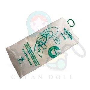 Image 3 - Non woven cloth Dust Bags for VORWERK KOBOLD VK140 VK150  FP140 FP150 dust bags  vacuum cleaner parts