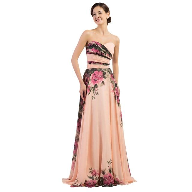 Online Shop 3 Designs Evening Dresses Stock One Shoulder Flower ...
