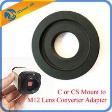 C ou CS monter à M12 lentille convertisseur adaptateur anneau CS caméra à M12 carte objectif pour AHD SONY CCD TVI CVI boîte CameraCamera Support