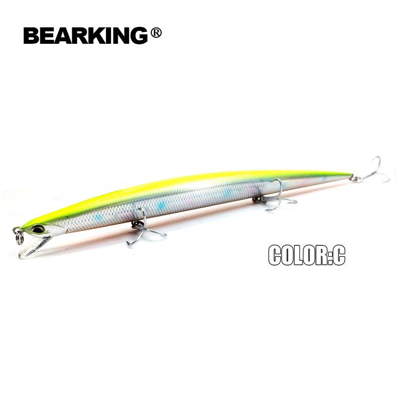 Bearking Brand M57 señuelos de pesca dura Minnow 5Pcs / Lot 20cm 27g - Pescando - foto 2