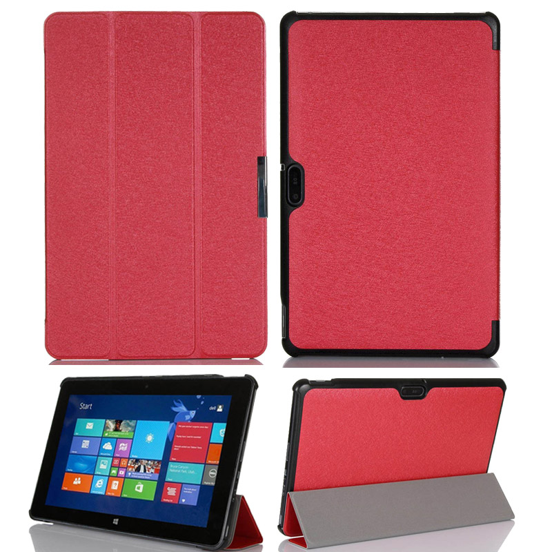 For Dell Venue 11 Pro 5130 Ultra thin PU Leather Stand Cover Pouch For 10 8