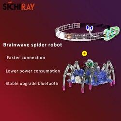 Sichiray EEG feedback robot pająk kit sterowanie falą mózgową bluetooth 4.0 EEG pałąk umysł przyrząd treningowy w Moduły automatyki domowej od Elektronika użytkowa na