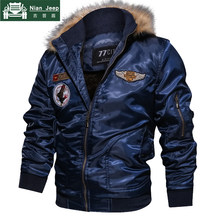 Winter Military Jacket Men Plus Size M-4XL Brand Fleece Liner Warm Outwear Mens Fur Collar Hoodies Tactical Jackets Parkas Homme(China)