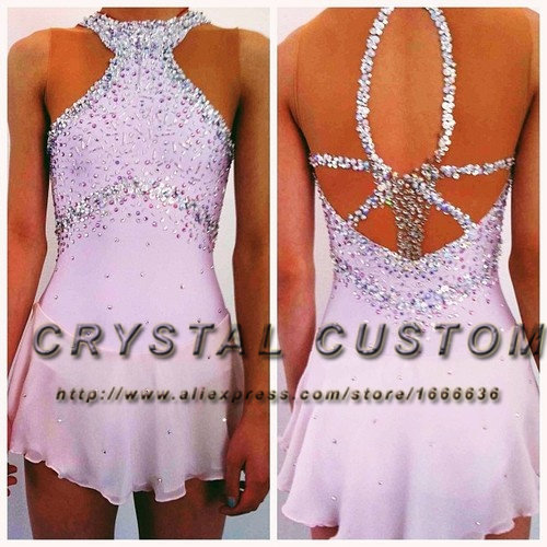 Popular Girls Figure Skating Dress-Buy Cheap Girls Figure Skating ...