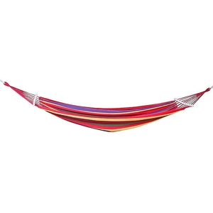 Image 3 - Double Hammock 450 Lbs Portable Travel Camping Hanging Hammock Swing Lazy Chair Canvas Hammocks(Red)