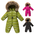 Winter Baby Rompers Snowwear Toddler Baby Clothing Sets Christmas Newborn Baby Clothes Boys Snow Coat for Baby Girls Clothes