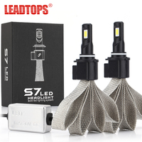 1Set 60W H1 Led 6400LM H3 6000k Car Headlight 9005 H11 9006 Driving Lamp Bulb Car