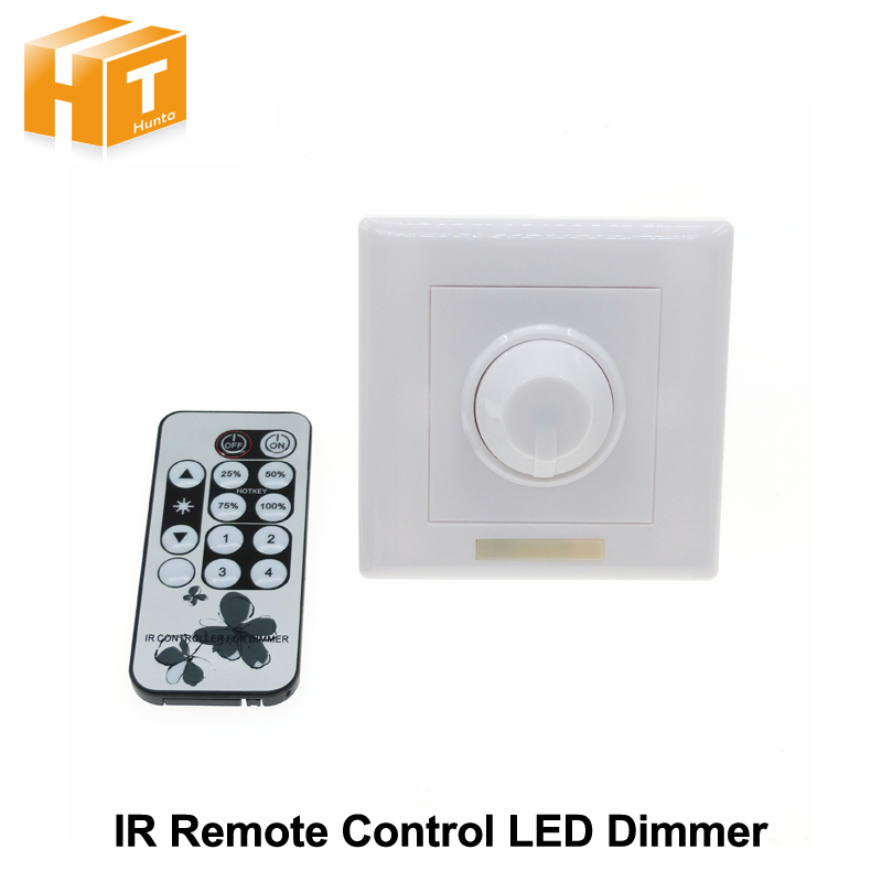 LED Dimmer IR Remote Control AC90-240V for Dimmable LED Bulb or LED Strip Lights cybernetics or control