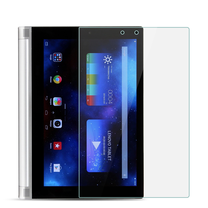 Tempered Glass For Lenovo Yoga Tablet 2-1050f Yoga 1050F 10.1 Inch 9H Ultra Thin Tablet Protective Toughened Glass Film