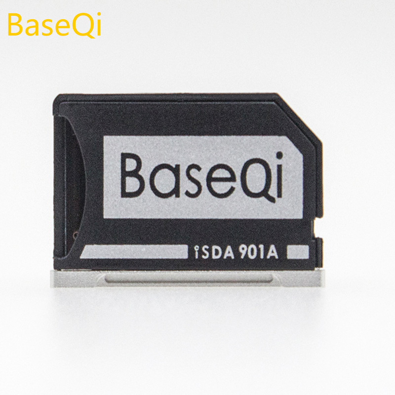 D'origine BaseQi Aluminium MiniDrive MicroSD Pour Lenovo yoga 900/yoga 4 pro (Modèle 901A) lecteur de Carte mémoire