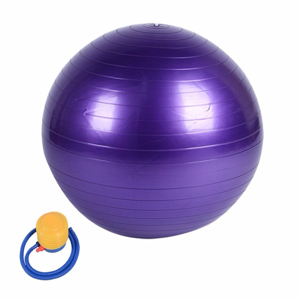 Burst Resistant Yoga Ball 45cm 55cm 65cm 75cm Utility Pilates Balance Sport Training Gym Fitness Iron Shake Exercise Balls Selling Well All Over The World