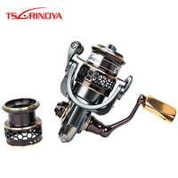 Tsurinoya Jaguar 1000 de 2000 de 3000 carrete de Pesca + Spare carrete señuelo de Moulinet Peche Para Pesca carrete de Pesca