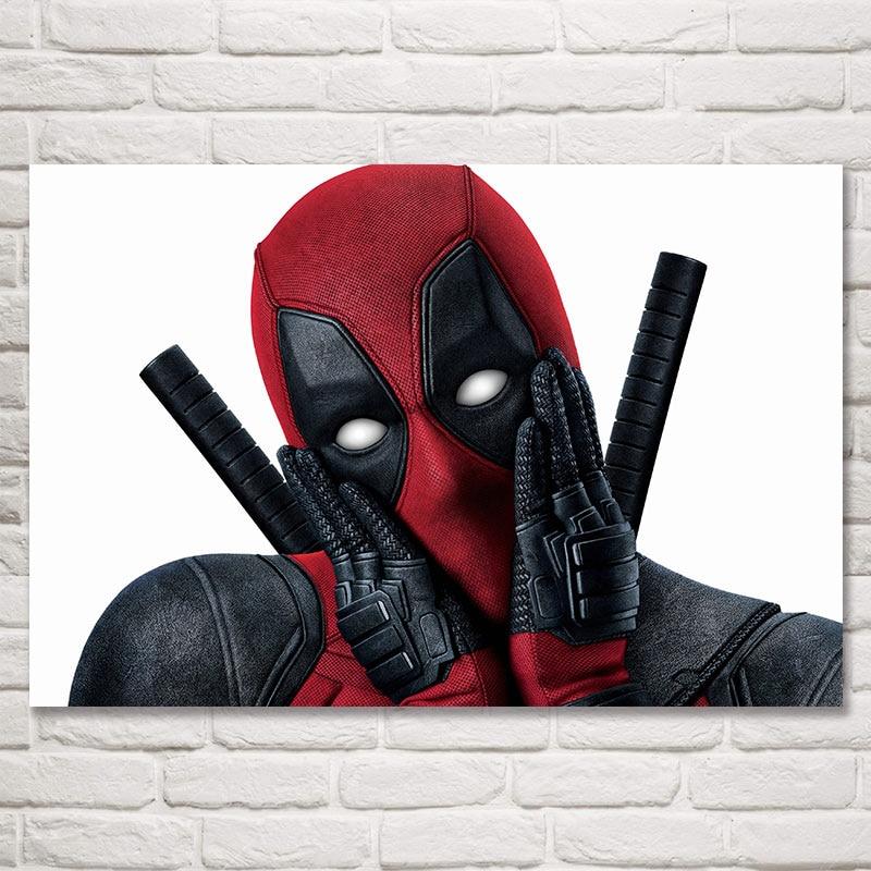 N-1415 Deadpool 2 2018 New Movie Fabric POSTER 20x30 24x36
