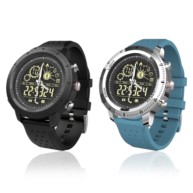 Waterproof NX02 Pedometer Message Reminder 610mAh Battery Smartwatch