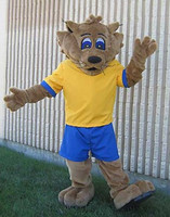 High quality Bob Cat Mascot Costumes Performance Props Apparel Halloween Outfit Dress
