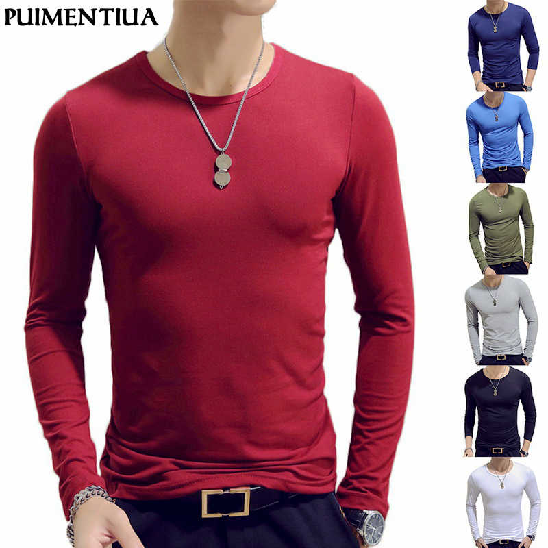 2019 Brand Clothing 14 Colors O-Neck Men's T-Shirt Men Fashion Fitness T-shirts Fitness Casual For Male T-shirt Tops