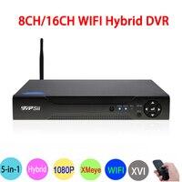 1080P Surveillance Camera Hi3521A 1080N 8 Channel 16CH 8CH 6 In 1 Wifi Hybrid Coaxial XVI