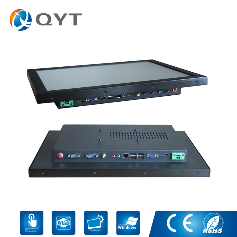 Best Price Industrial Computers 19 Intel 3855U Touch Screen win7/8/10 Oem Super Slim Education All In One Pc with wifi