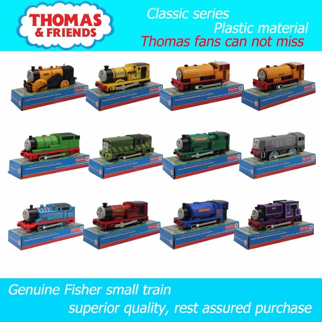 Electric train Thomas and friends 12 kinds of single small train  Trackmaster plastic material children have the packaging-in Diecasts & Toy  Vehicles