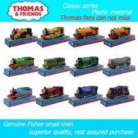 Elektryczny pociąg Tomek i przyjaciele 12 rodzaje pojedyncze kolejka Trackmaster materiał z tworzywa sztucznego dzieci mają opakowania