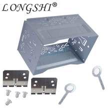 LONGSHI оборудование для автомобиля стерео радио фасции панель установки тире ободок отделка комплект для автомобильное радио VW DVD плеер монтажный двойной 2 Din