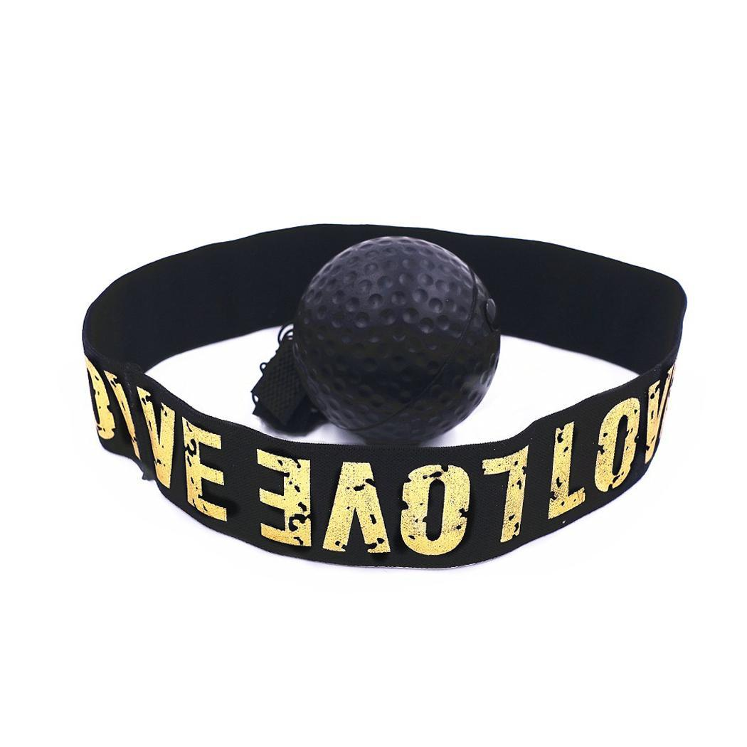 Reflection Speed Ball Punch Boxer Boxing Training Eye Reaction Force Sports HeadBand 80 cm Set