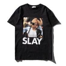 T shirt fun cotton Mens 2017summer Europe tide brand Tyson male T-shirt character printing Hip Hop tshirt man clothing t shirt