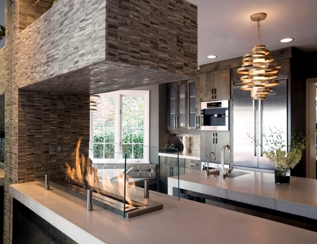 Inno Living 48 Inch Fireplace Burner  Bioethanol Fire
