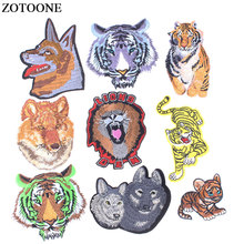 ZOTOONE Cartoon Patches for Clothing Letters Embroidered Flower Applique Patch Stripes on Clothes Badges E