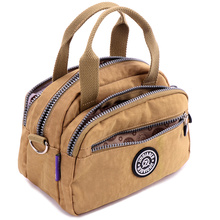 JINQIAOER Women Bags Waterproof Nylon Handbag Messenger Shoulder Bag
