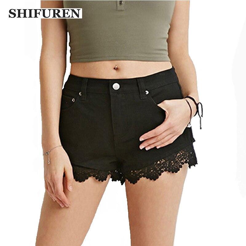 Online Get Cheap Black Denim Shorts for Girls -Aliexpress.com ...