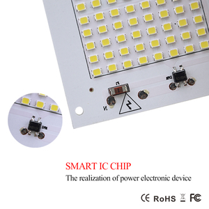Image 5 - החכם IC LED מנורת AC 220 V 90 W 50 W 30 W 20 W 10 W גבוהה הלום SMD 5730 צ יפ COB עם נהג LED מקרנים חיצוני אור הזרקורים רחוב