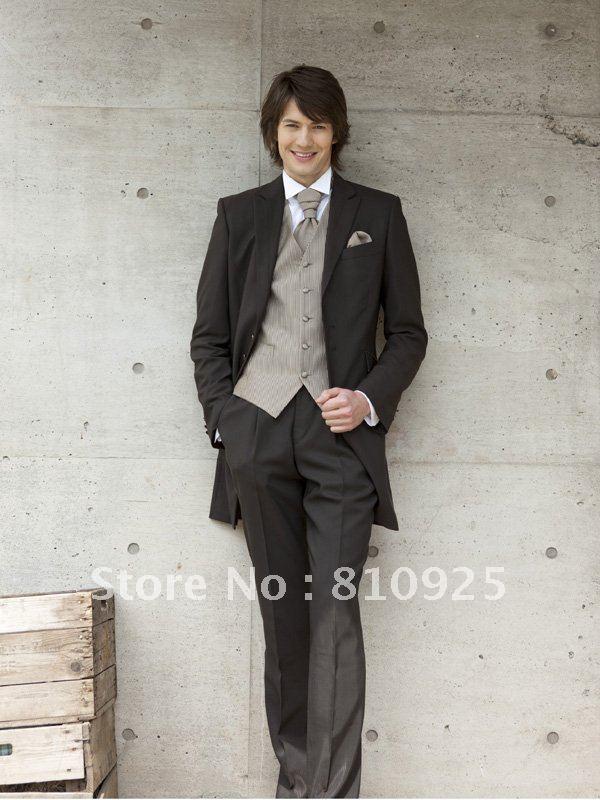 mens designer suits for men!tailor made suit for wedding/groom ...