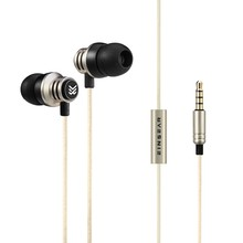 On sale Original EINSEAR T2 In Ear Earphone Dynamic 3.5mm Stereo Headset Earbuds Aerospace Aluminum Alloy Earphones