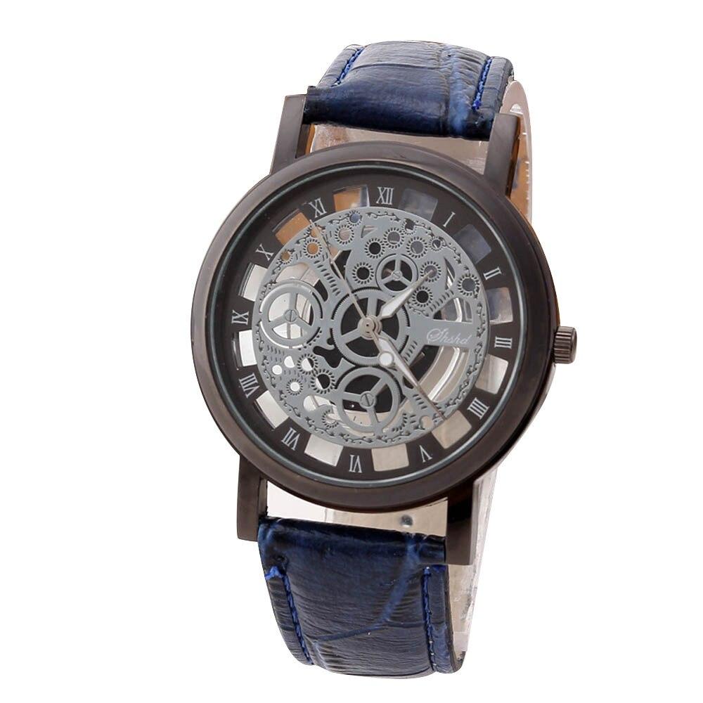 Hommes montres haut marque de luxe en acier inoxydable décontracté or Quartz analogique Date montre-bracelet de haute qualité pour livraison directe S7 18