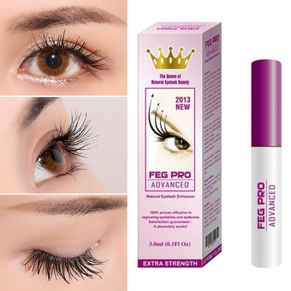58340234290 FEG Eyelash Enhancer Serum Eyelash Growth Treatment Natural Herbal Medicine Eye  Lashes Extension Lengthening Mascara Makeup
