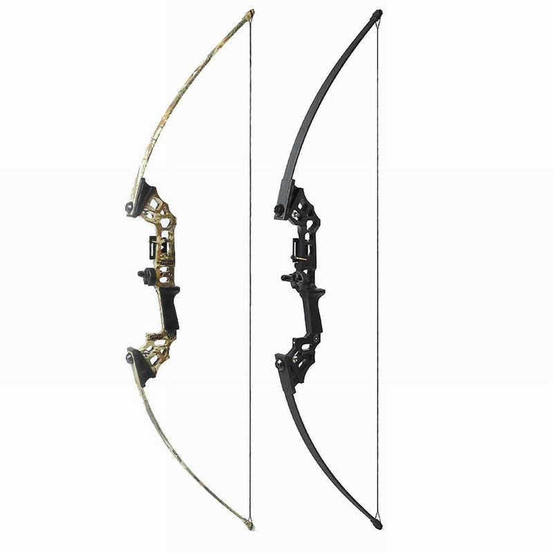 40Lbs Archery Take Down Recurve Bow Hunting Fishing Right Hand Longbow Arrow