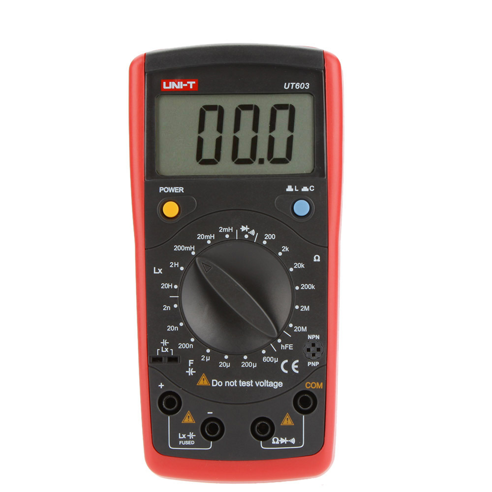 ФОТО UNI-T UT603 Modern Inductance Capacitance Meters Testers LCR Meter Capacitors Ohmmeter w/hFE Test