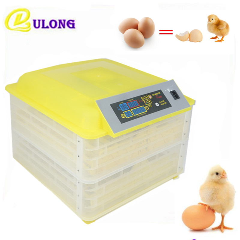 96 Chicken Eggs Incubator 80W Home Use Digital Temperature Hatchery Machine Auto Hatcher Poultry Hatching mini home use eggs incubators chicken digital eggs turner hatchers hatching tray machine equipment tool