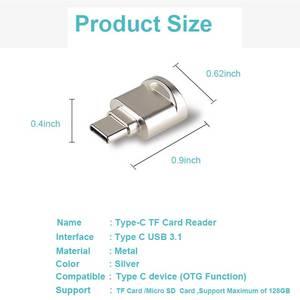 Image 2 - Ingelon type c micro sd Card Reader Metal OTG Adapter Memory TF Cardreader for USB C Phones usb microsd adapter Dropshipping