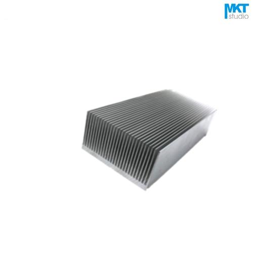 5Pcs 150mmx69mmx36mm Pure Aluminum Cooling Fin Radiator Heat Sink