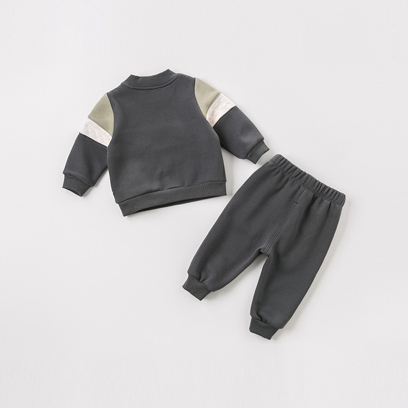 DB8446 dave bella autumn baby boys long sleeve clothing sets infant toddler top+pants 2 pcs outfits children high quality suits