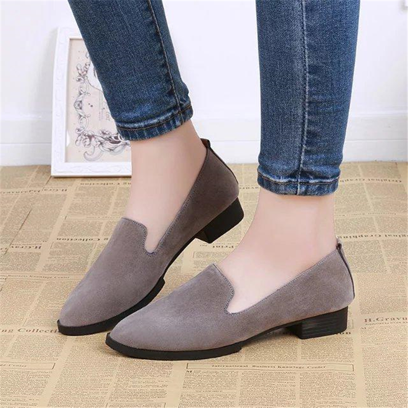 spring autumn loafer women shoes ladies ballet flats woman ballerinas casual shoe sapato zapatos mujer womens shoes plus size 43 Ladies Shoes Sapatos Femininos Women Flats Shoes Woman Black Casual Shoes Womens Alpargatas Loafers Ballet Flat zapatos mujer
