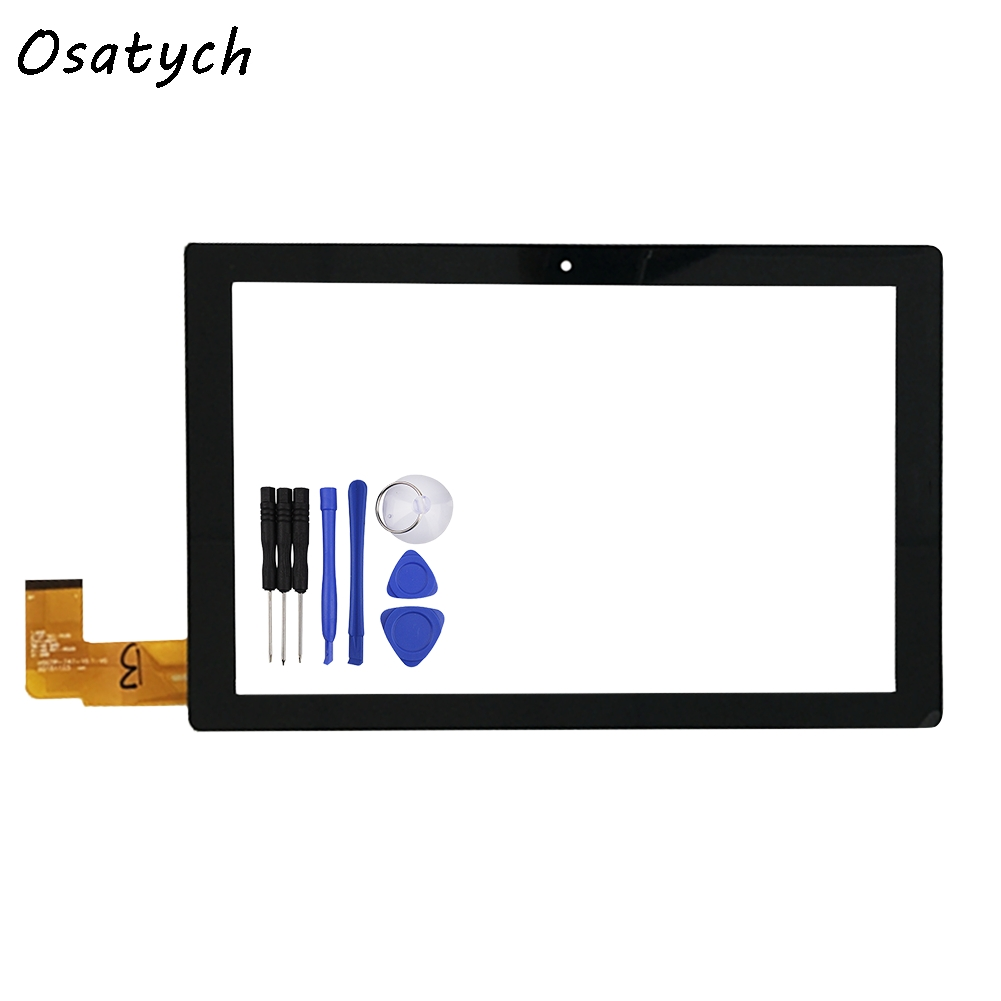 New 10.1Black Touch Screen For Chuwi Hi10 CW1515 HSCTP-747-10.1-V0 Digitizer Panel Replacement Glass Sensor Free Shipping