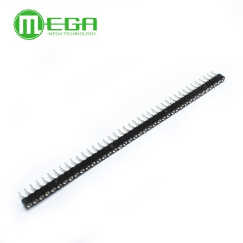 100pcs 1x40 Pin 2.54 Round Female Header Connector - discount item  6% OFF Active Components